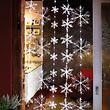 LED-Schneeflocken-Vorhang