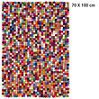 Design-Filzkugel-Teppich Lotte 70x100 cm