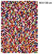 Design-Filzkugel-Teppich Lotte 90x130 cm