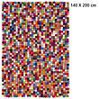Design-Filzkugel-Teppich Lotte 140x200 cm