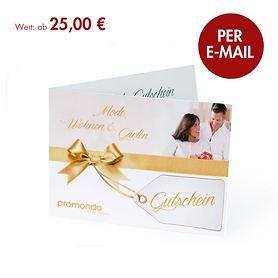 E-Geschenk-Gutscheine per E-Mail