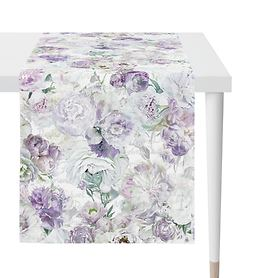 Tischläufe Pfingstrosen lila