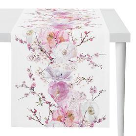 Tischläufer Spring Blossoms 135x45