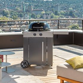Gas-Kugelgrill AROSA 570 G GREY STEEL