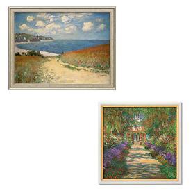Bilder Claude Monet, gerahmt