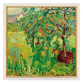 Bild Apfelbaum am Atelier