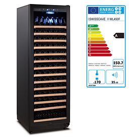 Einzonen-Weinkühlschränke BLACK EDITION von Swisscave