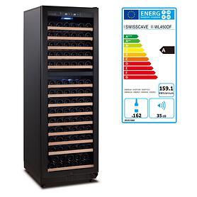 Zweizonen-Weinkühlschrank BLACK EDITION von Swisscave