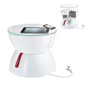 Beistelltisch mit Kabelbox Lounge Mini