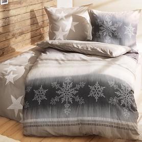 Bettwäsche Sterne und Schneeflocken