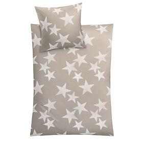 Bettwäsche Sterne 155x220 cm