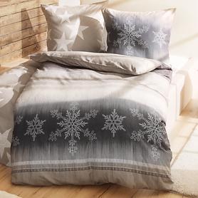 Bettwäsche Schneeflocken