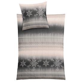 Bettwäsche Schneeflocken 155x220 cm