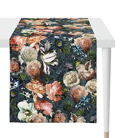 Tischläufer Herbstrosen 48x140