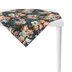 Tischdecke Herbstrosen 100