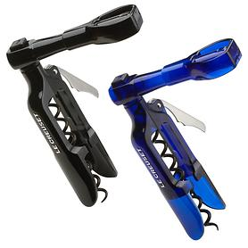 Screwpull Korkenzieher PM-100 Taschenmodell schwarz und transp.-blau