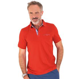 Polo-Shirt Dirk rot Gr. M