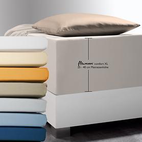 XL-Spannbettlaken Comfort für Boxspring- u. Wasserbetten