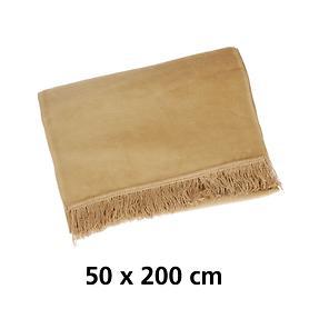 schondecke-cover-cotton-camel-50-x-200-cm
