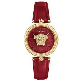 Versace-Uhr Palazzo rot