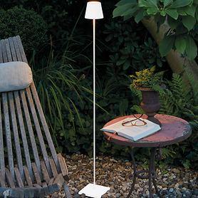 Tischläufer Kirschblüten hellblau 140x48