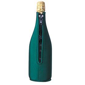 Neopren-Flaschenkühler, dunkelgrün