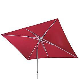 Sonnenschirm 'Push-Up' eckig rot | Garten > Sonnenschirme und Markisen > Sonnenschirme | Doppler