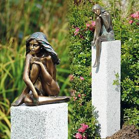 Skulpturen Demi, Emanuelle und Glücksfeen