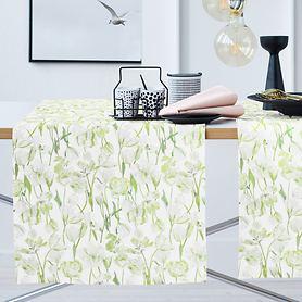 Tischläufer Springtime grün 48x140cm