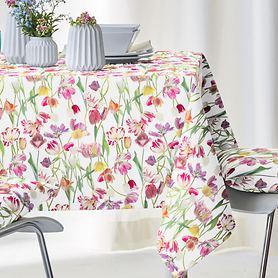 Tischdecke Springtime bunt 100x100cm