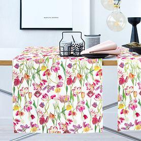 Tischläufer Springtime bunt 48x140cm