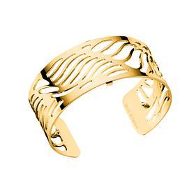 Armspange Wave vergoldet 2,5 cm