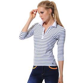 Poloshirt Fey navy Gr. 46