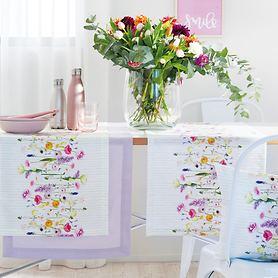 Tischläufer Spring Flowers 135x45