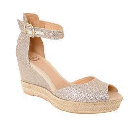 Sandalette Alison silber Gr. 40