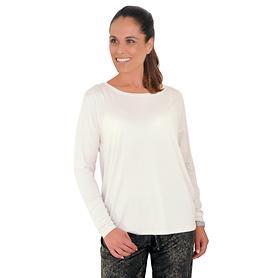 Langarm-Shirt Trend offwhite Gr. 36/38