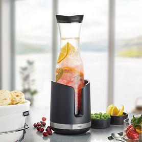 Glas-Karaffe & Flaschenkühler