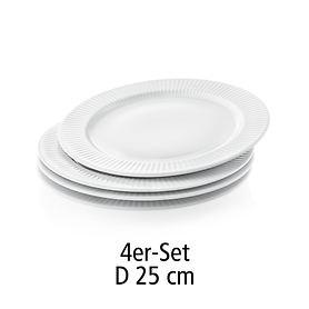 Teller Legio Nova 4er-Set 25 cm
