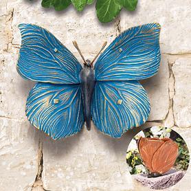 Skulptur Schmetterling