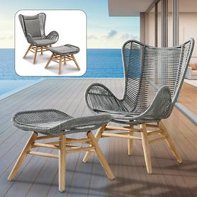 Relax-Lounge Set Asmara & Sitzpolster-Set