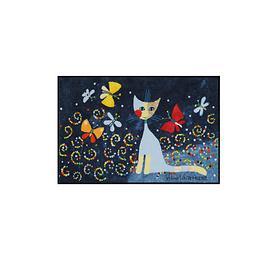 Fußmatte 'Danza della Farfalle' 50x75   Heimtextilien > Fussmatten   Bunt   Salonloewe
