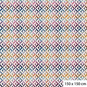 Tischdecke Mille Twist 150x150 cm