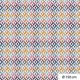 Tischdecke Mille Twist D 150 cm