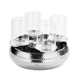 Kranz Bardino D 40 mit Glasaufsätzen