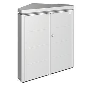 gartenschrank-cornerboard-silber