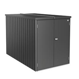 Gerätehaus Mini-Garage dkl-grau