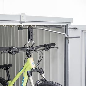 Fahrradhängeschiene für Mini-Garage