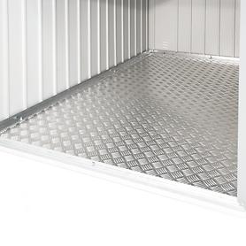 Alu - Bodenplatte für Mini-Garage