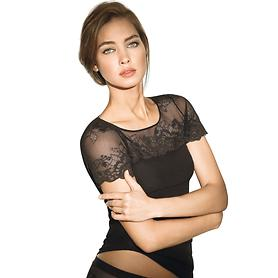 Shirt Greta, schwarz, Gr. S