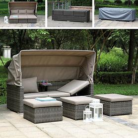 Lounge-Möbel-Set Elba